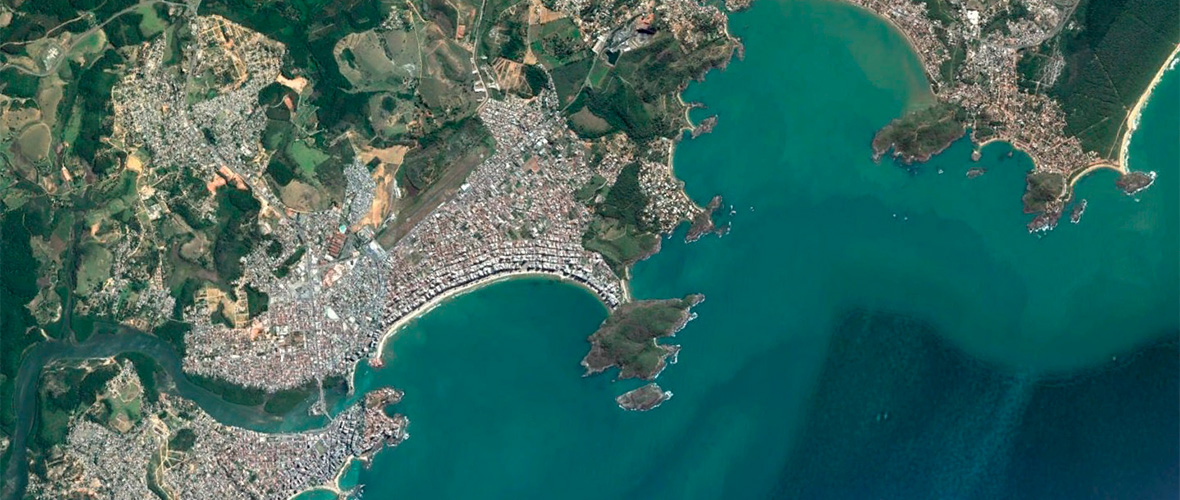 vista aérea Guarapari ES google earth